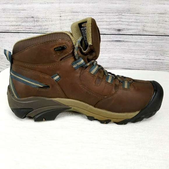 9f7fae3a31 Keen Shoes | Utility Detroit Mid Steel Toe Work Boots | Poshmark